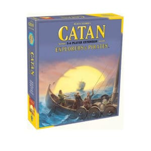 Catan udvidelse: explorers and pirates - brætspil