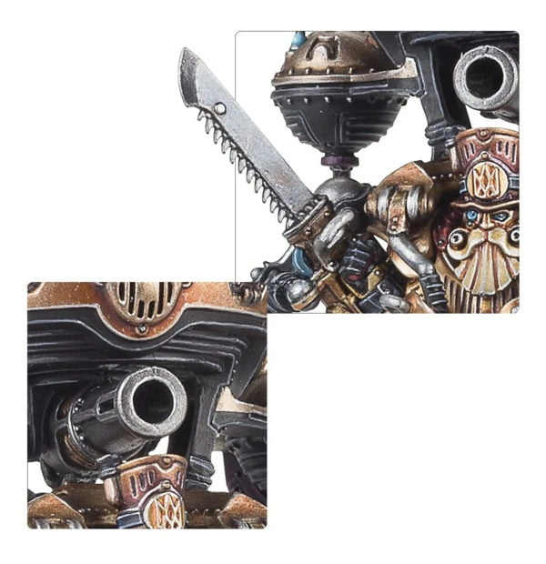 Brokk Grungsson, Lord-Magnate of Barak-Nar - Kharadron Overlords