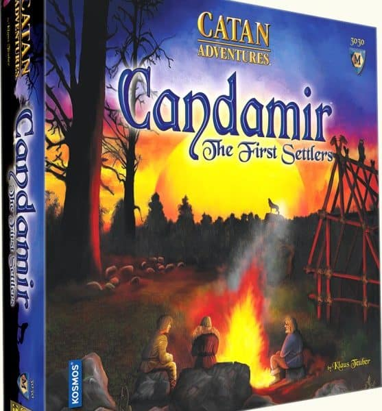 Catan: candamir, the first settlers