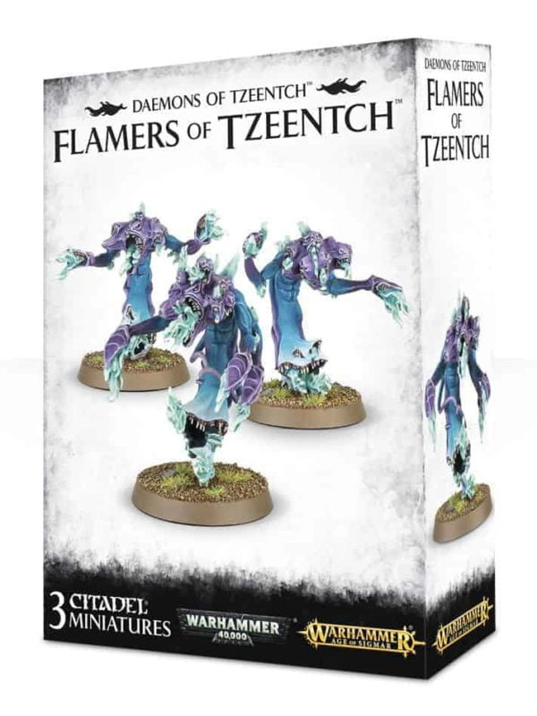 Daemons of Tzeentch: Fateskimmer, Herald of Tzeentch on Burning Chariot