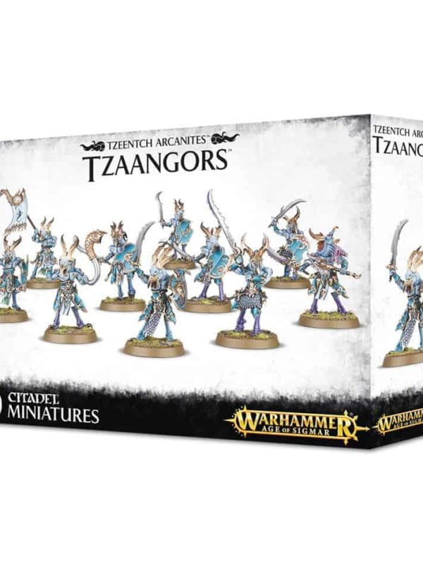 Disciples of Tzeentch: Arcanites Tzaangor Enlightened, Tzaangor Skyfires