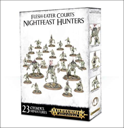 Flesh-eater courts - nightfeast hunters