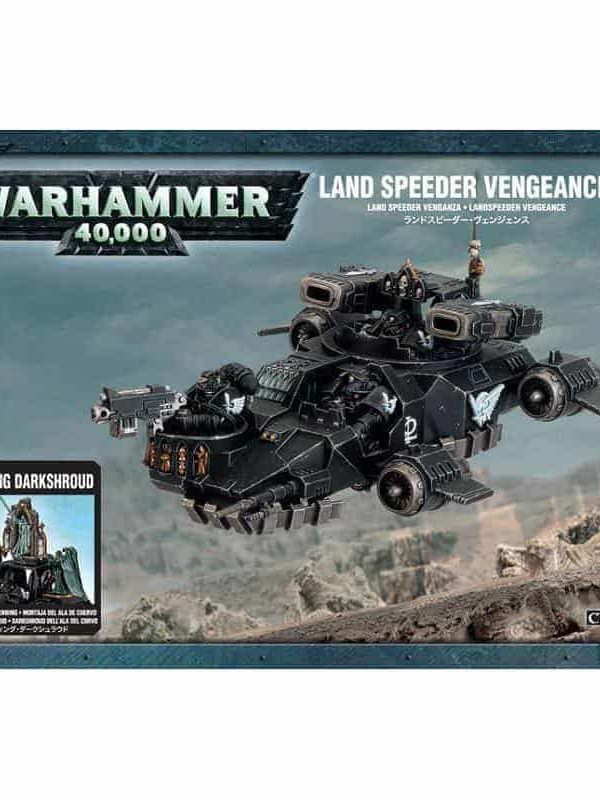 Land Speeder Vengeance / Ravenwing Darkshroud - Dark Angels
