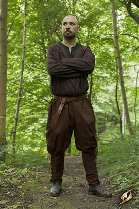 Pants medieval brown m/l