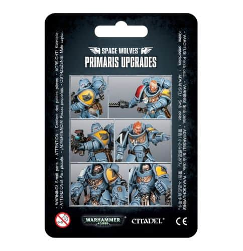 Primaris Upgrades - Space Wolves