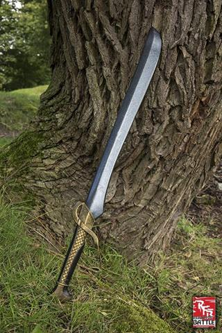 Ready for battle braided elven sword 75 cm.