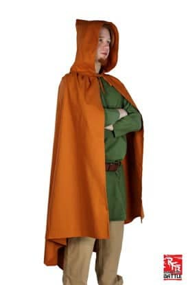 Ready for battle cape - ocher - 8 -10 years