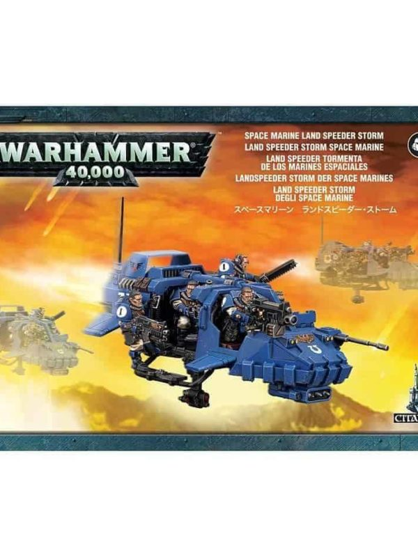 Space marines: land speeder