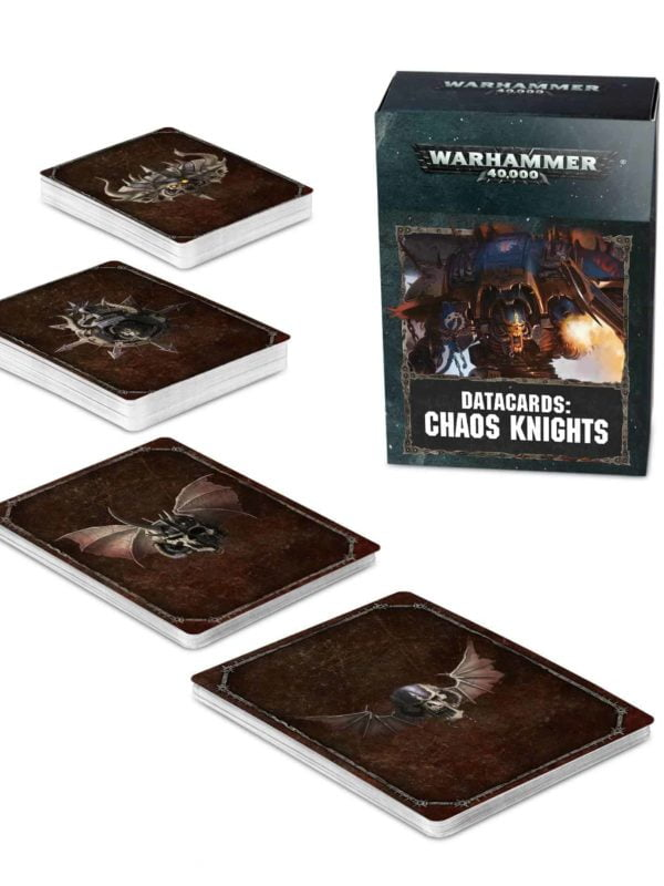 Datacards Chaos Knights