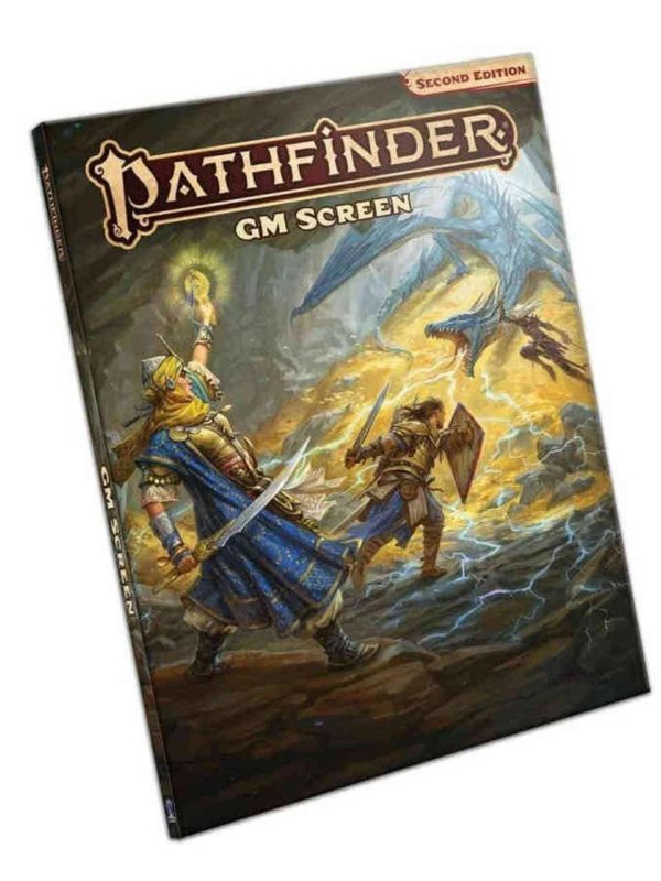 Pathfinder 2nd edition - game master screen