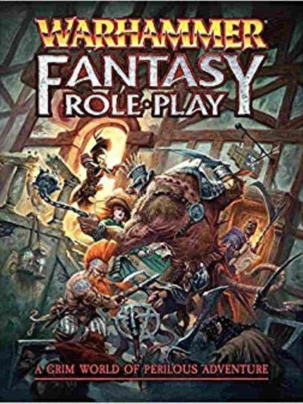 Warhammer fantasy role-play - starter set