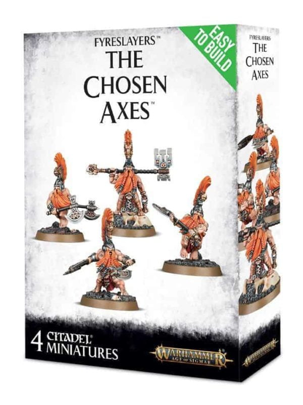The Chosen Axes - Fyreslayers