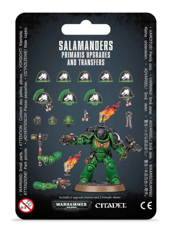 Primaris Upgrades and Transfers - Salamanders