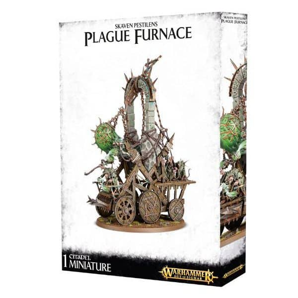 Skaven pestilens: plague furnace