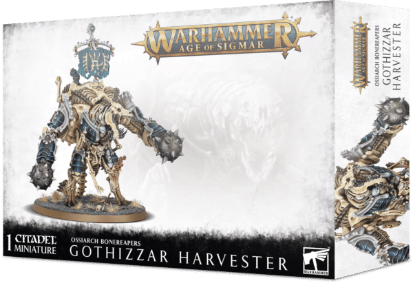 Ossiarch Bonereapers - Gothizzar Harvester