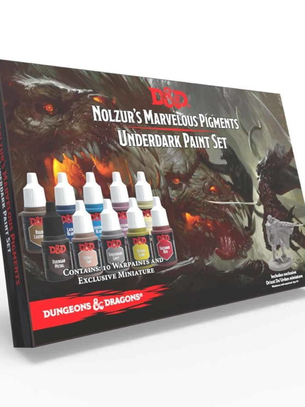 Underdark Paint Set - Nolzur's Marvelous Pigments - Dungeons & Dragons