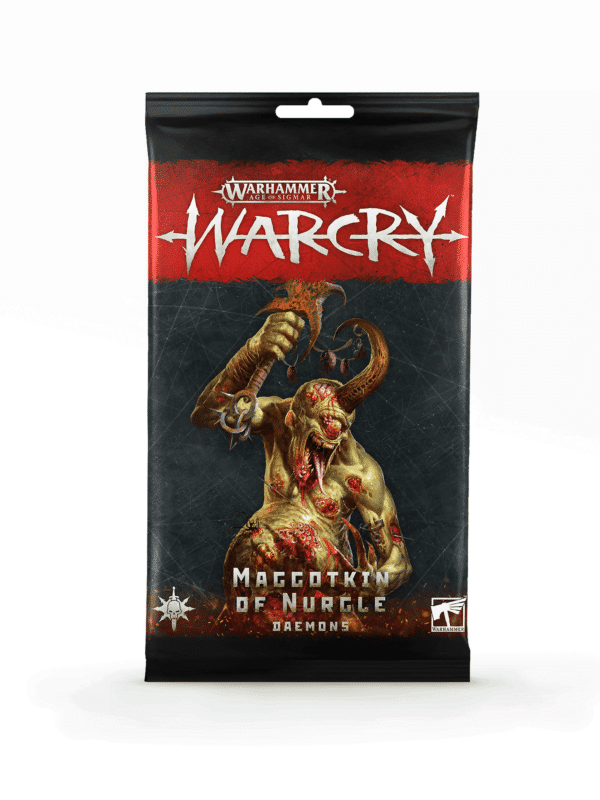 Warcry: maggotkin of nurgle daemons card pack