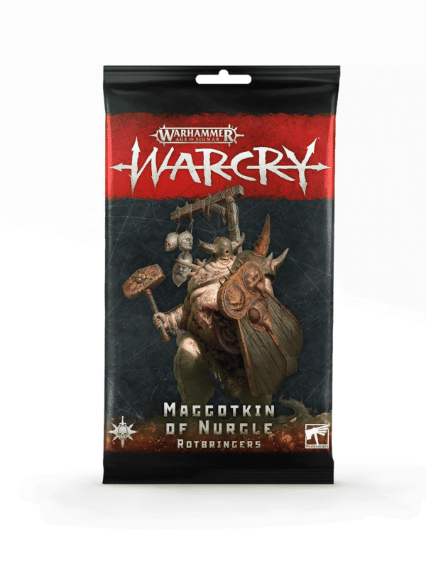 Warcry: maggotkin of nurgle rotbringers card pack