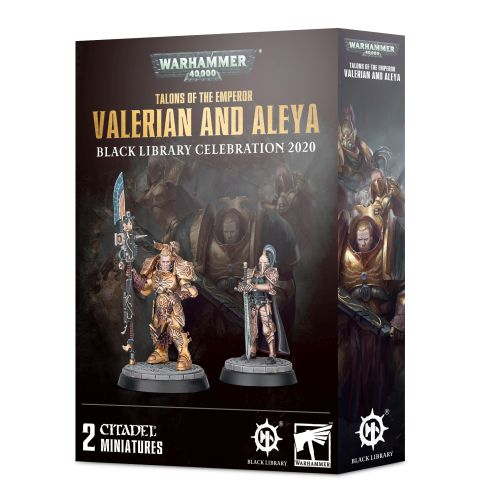 Valerian and Aleya - Talons of the Emperor