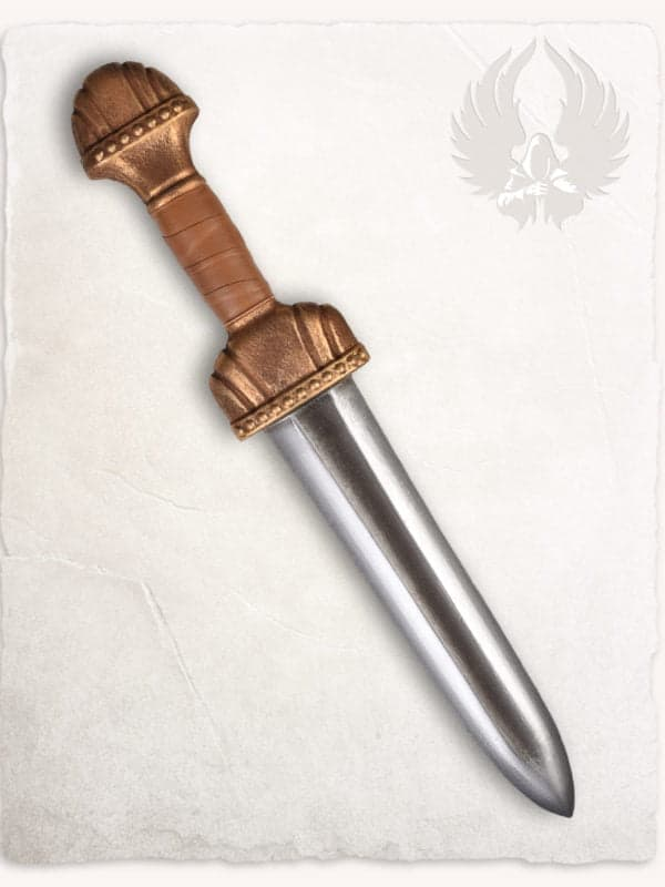 Alric Adventurers Dagger: Gold - Dagger fra Mytholon (40 cm)