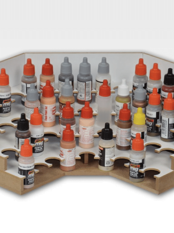 Corner Paints Module 26mm - Malingrack til 48 malinger, Army Painter size