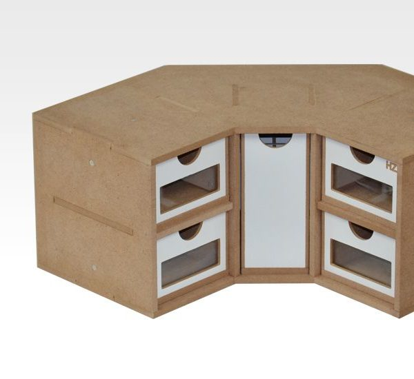 Hobby Zone: Corner Drawers Module