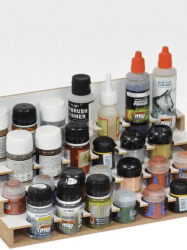Paints Module 36mm- Rack til 26 malinger, Citadel size