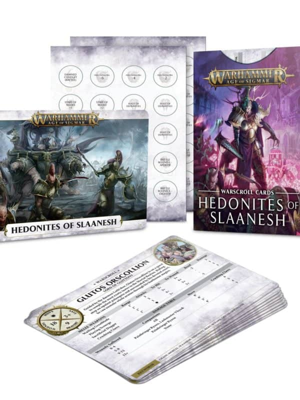 Warscroll Cards: Hedonites of Slaanesh (2021)