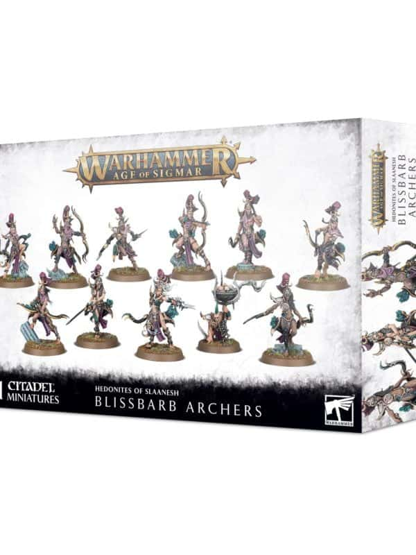 Blissbarb Archers - Hedonites of Slaanesh